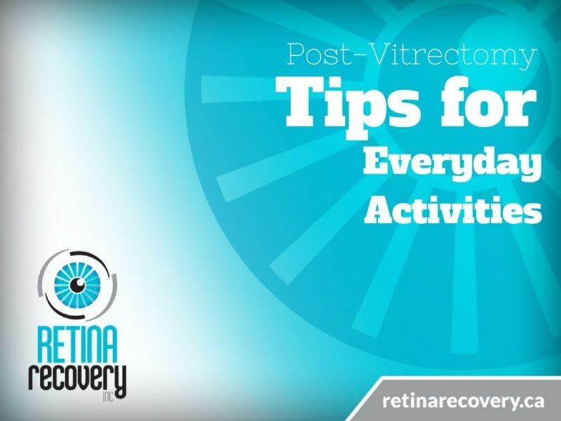 Post Eye Surgery (Facedown) Tips for Everyday Activities